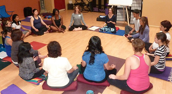 Yoga and meditation with Rev. Connie Habash